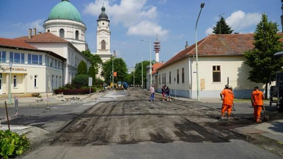 Bercsényi-Szolnoki csomópont 14. kép